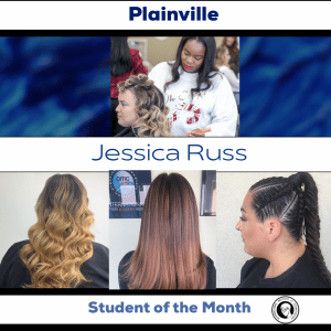 Jessica student of the month