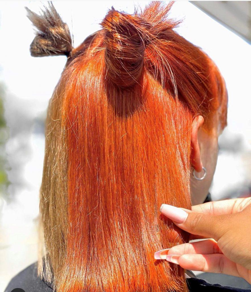 corrective haircolor