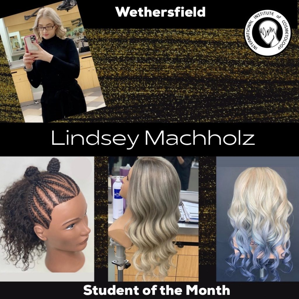 lindsey  student of the month